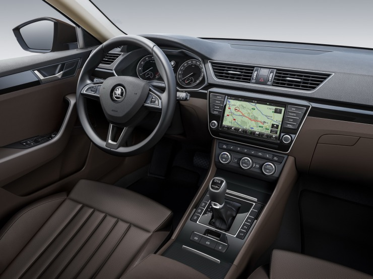 2016 Skoda Superb Interiors