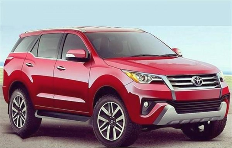 2016 Toyota Fortuner Luxury SUV Sketch
