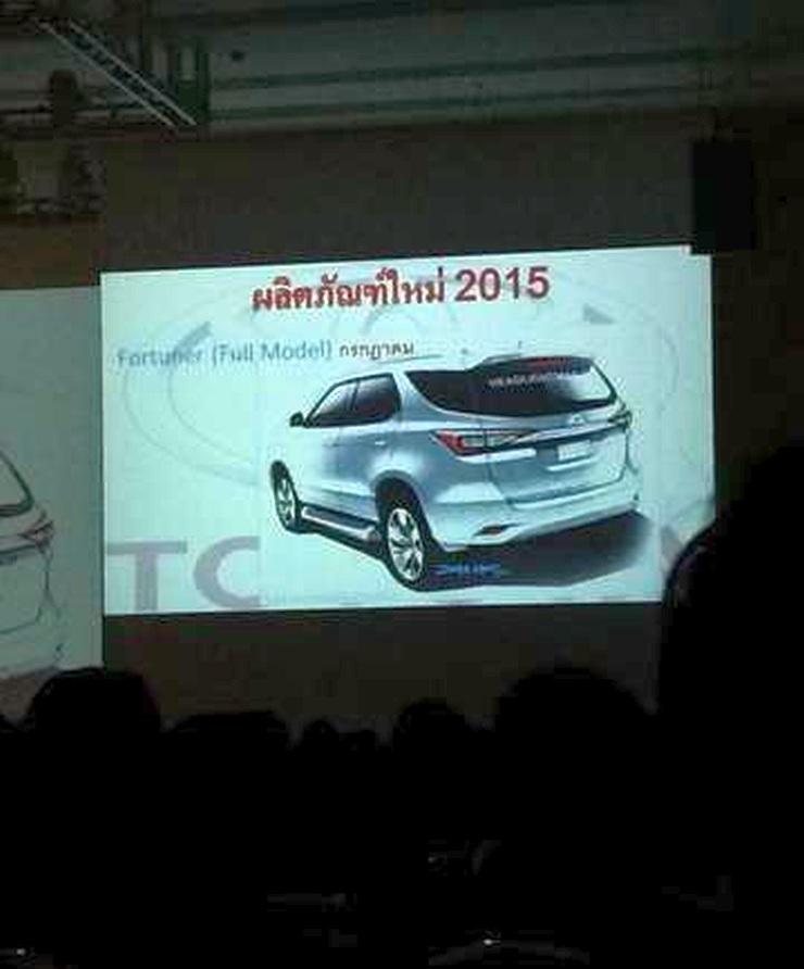 2016 Toyota Fortuner Luxury SUV Sketch