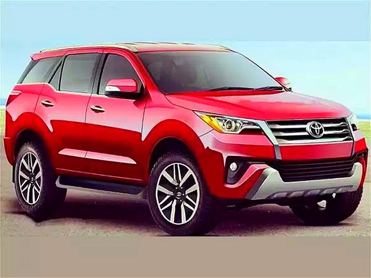 2016 Toyota Fortuner SUV Render