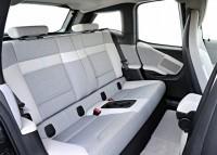 BMW i3 Electric Car Rear Seat