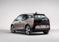 BMW i3 Electric Car Rear Three Quarters