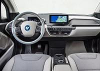 BMW i3 Electric Car Dashboard