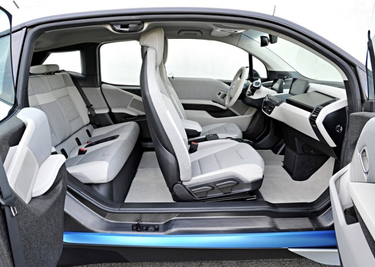 Bmw I3 Electric Hatchback Under Consideration For India Images