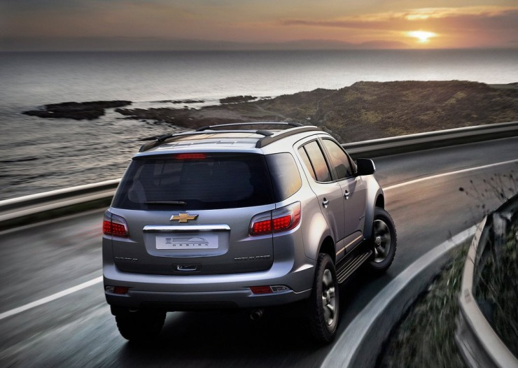 Chevrolet TrailBlazer SUV Rear