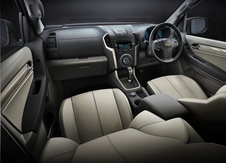 Chevrolet TrailBlazer SUV Interiors