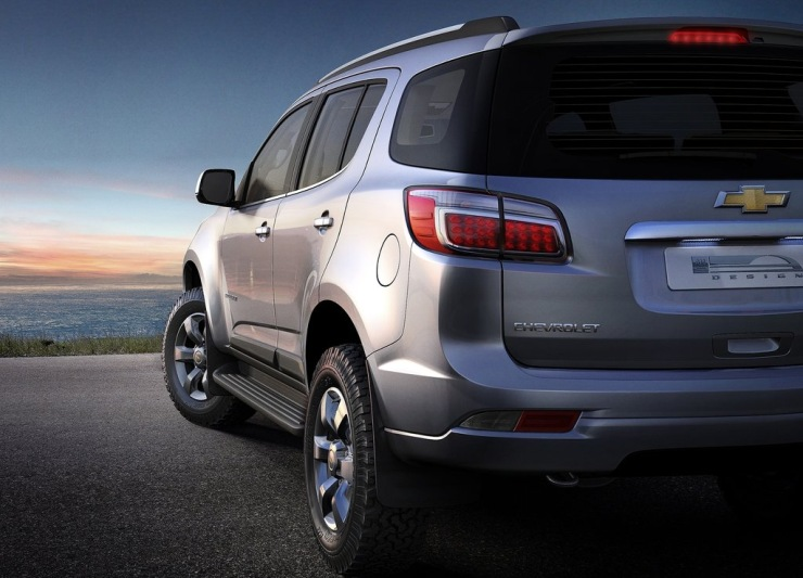 Chevrolet TrailBlazer SUV Teaser