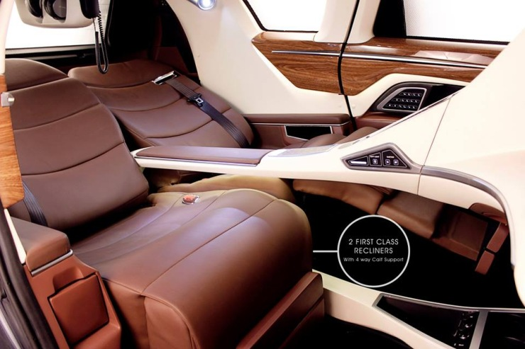 8 Seater Vehicles >> DC Design's Toyota Innova MPV is a First Class Lounge ...