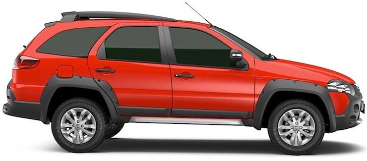 Fiat Palio Adventure Profile
