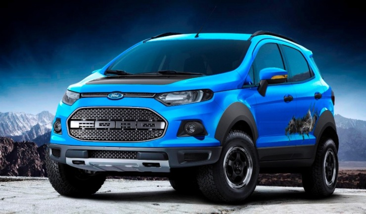 Ford Ecosport Gets Sync Infotainment System Update In India