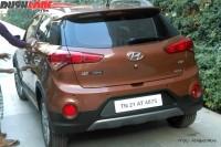 Hyundai i20 Active Crossover Spyshot Rear Angle