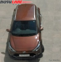 Hyundai i20 Active Crossover Spyshot Top View