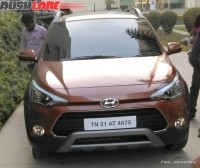 Hyundai i20 Active Crossover Spyshot Front