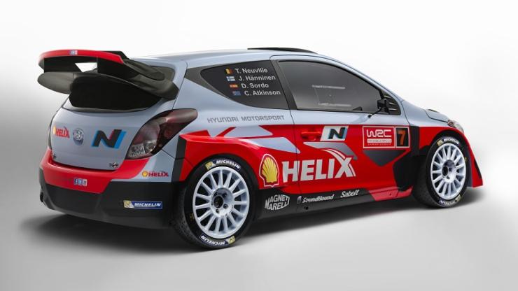 Hyundai i20 WRC Rear