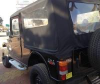 Mahindra Thar Facelift Interiors Spyshot Rear
