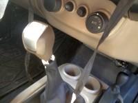 Mahindra Thar Facelift Interiors Spyshot Gear Shift Lever