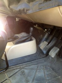 Mahindra Thar Facelift Interiors Spyshot ABC Pedals