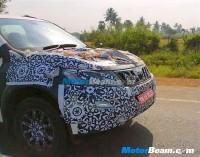 Mahindra XUV500 Facelift Spyshot Front