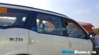 Mahindra XUV500 Facelift Spyshot Profile