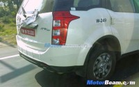 Mahindra XUV500 Facelift Spyshot Rear
