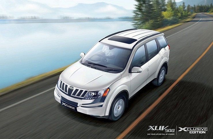 Mahindra XUV500 Xclusive Edition Launched in India