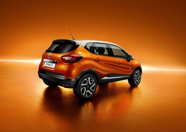 Renault Captur Compact Crossover Rear