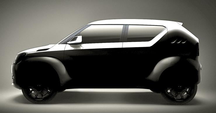 Suzuki iM-4 Concept SUV Teaser