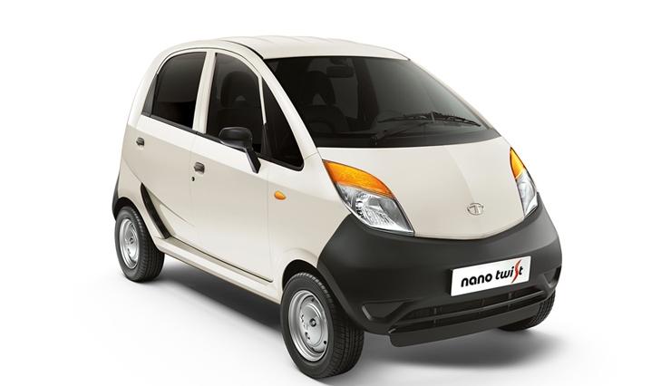 Tata Nano Twist XE in White