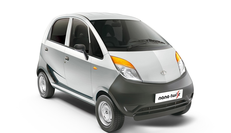 Tata Nano Twist XE in Silver