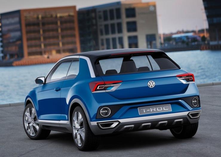 Volkswagen T-ROC Compact SUV Concept Rear