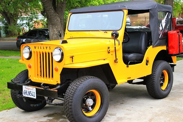 Willy's CJ3B Jeep