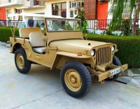 1981 Willy's Jeep with Toyota Diesel Engine Front