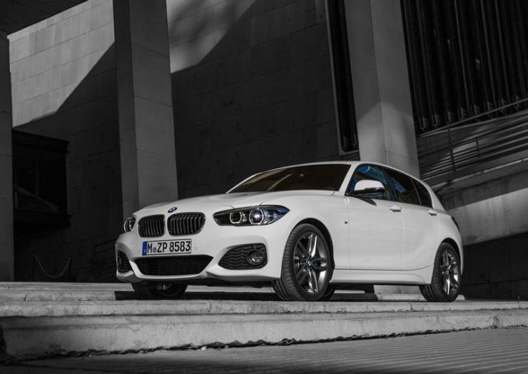 2015 BMW 1-Series Hatchback Facelift