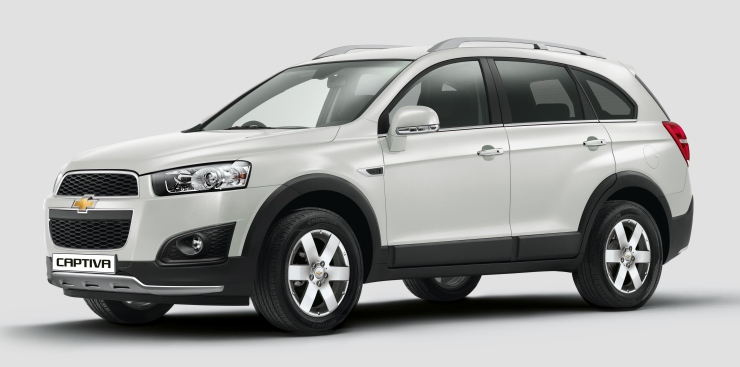 2015 Chevrolet Captiva Luxury SUV Launched; Details on New ...