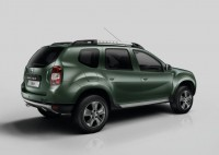 2015 Renault Duster SUV Facelift Rear Three Quarters