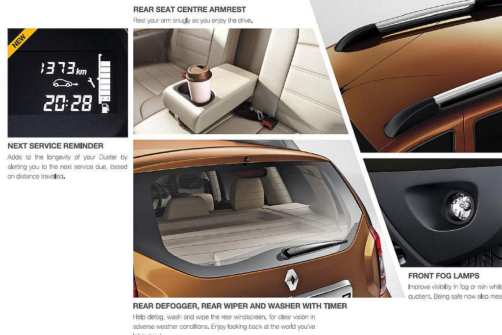 2015 renault duster suv what 39 s new. Black Bedroom Furniture Sets. Home Design Ideas