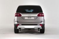 016 Tata Hexa Crossover Concept Rear