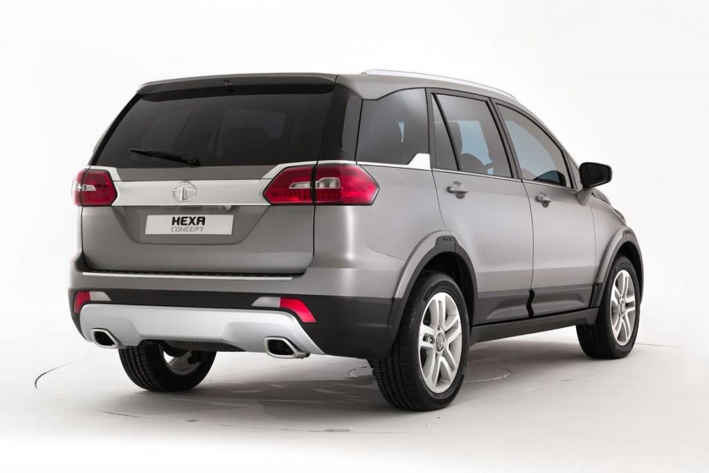 016 Tata Hexa Crossover Concept