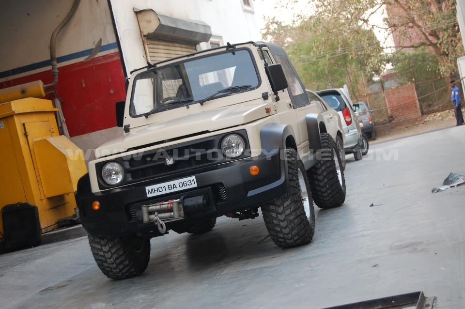 AutoPsyche Mojave Maruti Gypsy 1