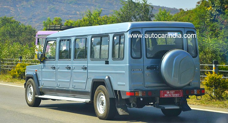Force Motors' Trax Giraffe 7 Door MUV