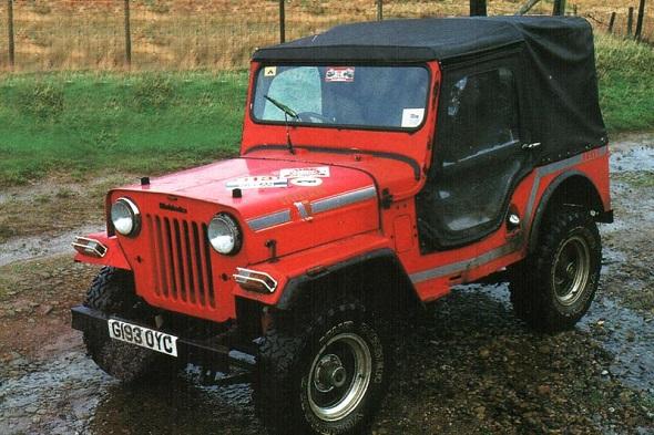 Mahindra CJ340