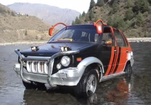 Maruti 800 SUV mod