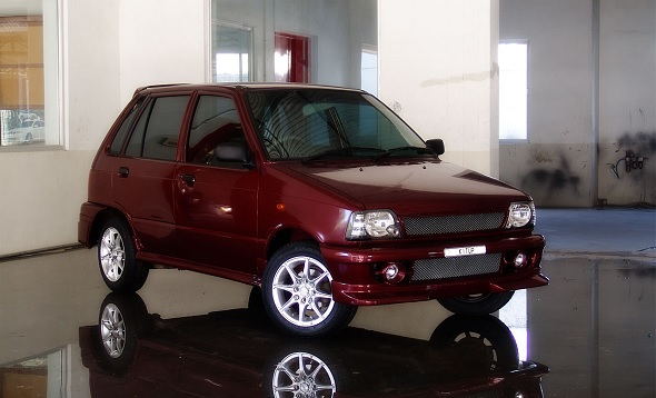 Beautiful And Crazy Modified Maruti 800s