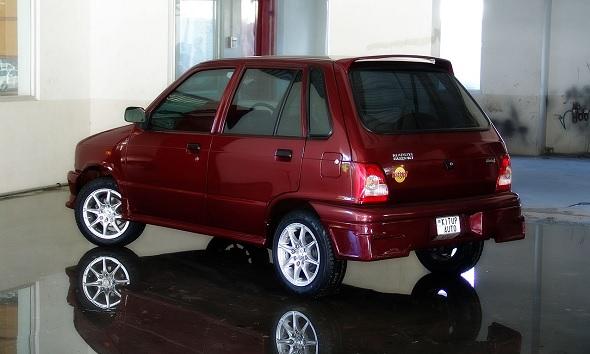 Beautiful And Crazy Modified Maruti 800s
