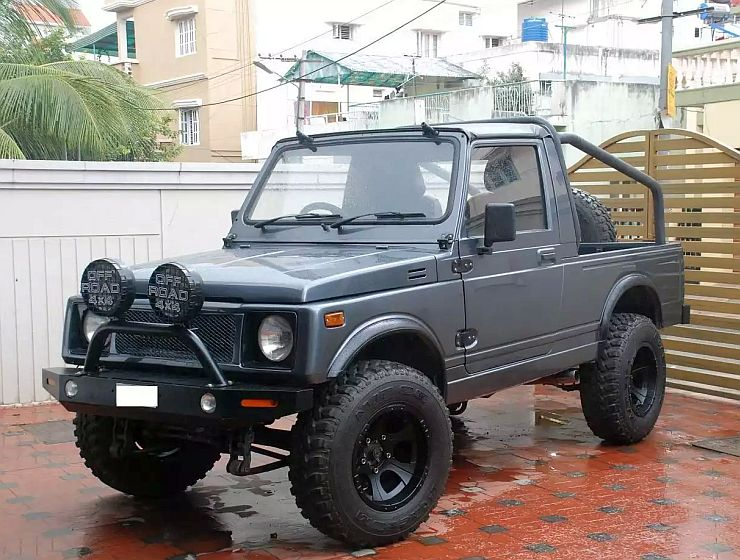 5 Tastefully Modified Maruti Suzuki Gypsy Suvs