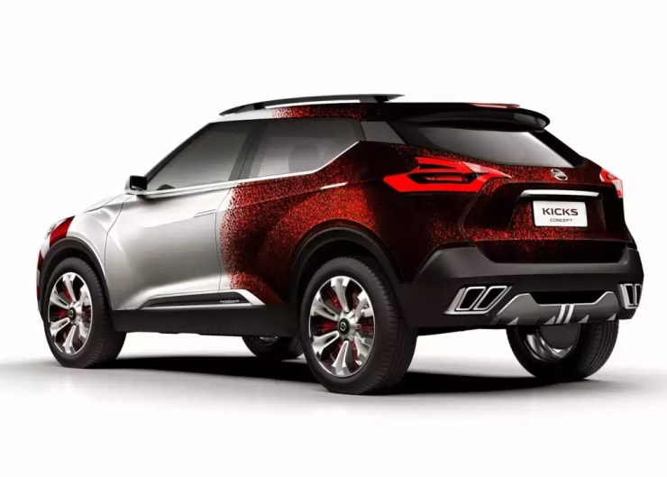 Nissan Kicks Samba Concept SUV Rear
