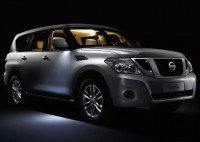 Nissan Patrol SUV Front