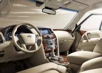 Nissan Patrol SUV Dashboard