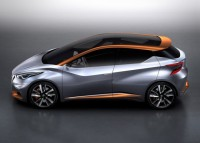Nissan Sway Concept Hatchback Profile