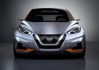 Nissan Sway Concept Hatchback Front